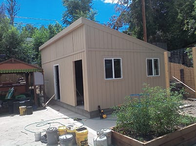 Small Detached Garage Construction Company Denver, CO